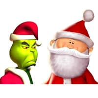 Grinch Meets Claus